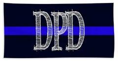 Dpd Blue Line Mug Beach Towel