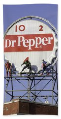 Dr Pepper And The Avengers Beach Towel