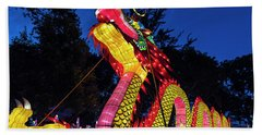 Dragan Lantern Beach Towel