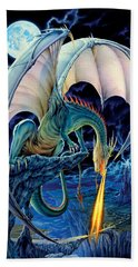 Dragon Causeway Beach Towel by The Dragon Chronicles - Robin Ko