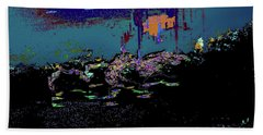 Dragon Dances To The Night Skie Color Filing System Beach Sheet