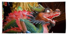 Dragon In Tiger Cave Temple Beach Towel