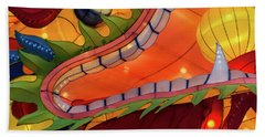 Beach Towel featuring the photograph Dragon by Michael Nowotny