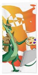 Dragon Painter Beach Sheet