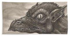 Dragon Portrait No. 2 Beach Towel