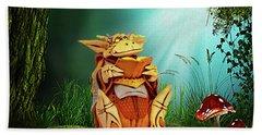 Dragon Tales Beach Towel