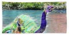 Dragon The Line Beach Sheet