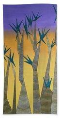Dragon Trees Beach Towel