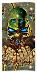 Dragonfly Empath Beach Sheet