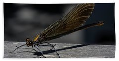 Dragonfly Beach Towel