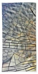 Dragonfly Wing Beach Towel