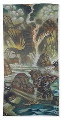 Dragon's Breath Beach Towel