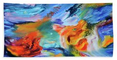 Dragon's Head Nebula Beach Sheet