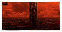 Dragon's Spire Beach Towel