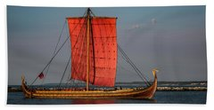 Draken Harald Harfagre Beach Towel by Dale Kincaid