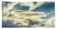 Drama Clouds Beach Sheet
