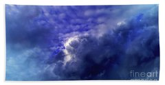 Dramatic Cumulus Sky Beach Towel