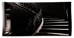 Dramatic Stairway Scene  Beach Sheet