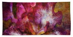 Dramatic White And Purple 0273 Idp_2 Beach Sheet