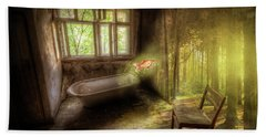 Beach Towel featuring the digital art Dream Bathtime by Nathan Wright