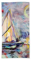 Dream Boat Beach Sheet