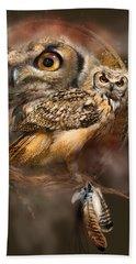 Dream Catcher - Spirit Of The Owl Beach Sheet