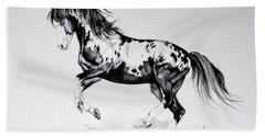 Dream Horse Series - Painted Dust Beach Towel