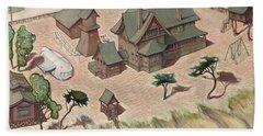 Dream House Beach Sheet