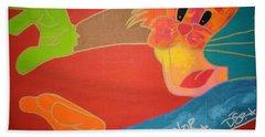Dream In Color Beach Towel