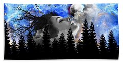 Dream Is The Space To Fly Farther Beach Towel