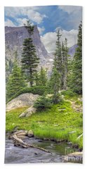 Dream Lake Beach Towel by Juli Scalzi
