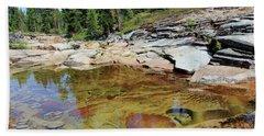 Dream Of A Stream Beach Sheet by Sean Sarsfield