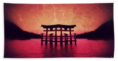 Dream Of Japan Beach Towel