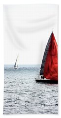 Dream Of Red Beach Towel
