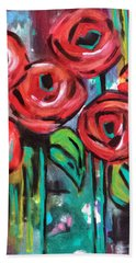 Dream Roses Beach Sheet