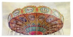 Dreamer - Nostalgic Summer Carnival Beach Sheet