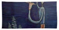 Dreamers 13-002 Beach Towel by Mario Perron