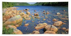 Dreaming Of Acadia Beach Towel