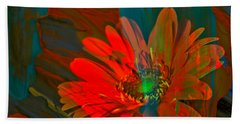 Beach Towel featuring the photograph Dreaming Of Flowers by Jeff Swan