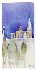 Dreaming Spires Beach Towel