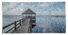 Dreaming Together Beach Towel by Wade Brooks