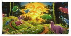 Dreamland IIi Beach Towel