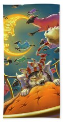 Dreamland Iv Beach Towel