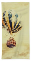 Dreams And Clouds Beach Towel