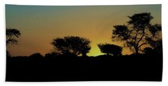 Dreams Of Namibian Sunsets Beach Towel by Ernie Echols