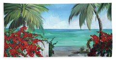 Dreams Of St. John Beach Sheet by Kristen Abrahamson