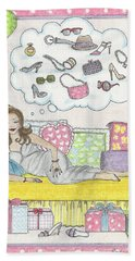 Dreams Beach Towel