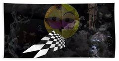 Beach Towel featuring the photograph Dreamscape Four by Ken Frischkorn