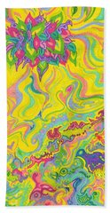Dreamscaped Swamp-garden 1 Beach Towel
