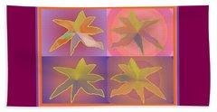 Dreamtime Starbirds Beach Sheet